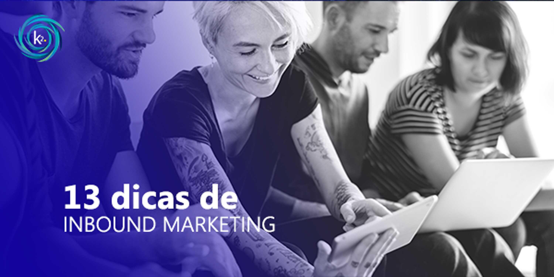 13 dicas de inbound marketing