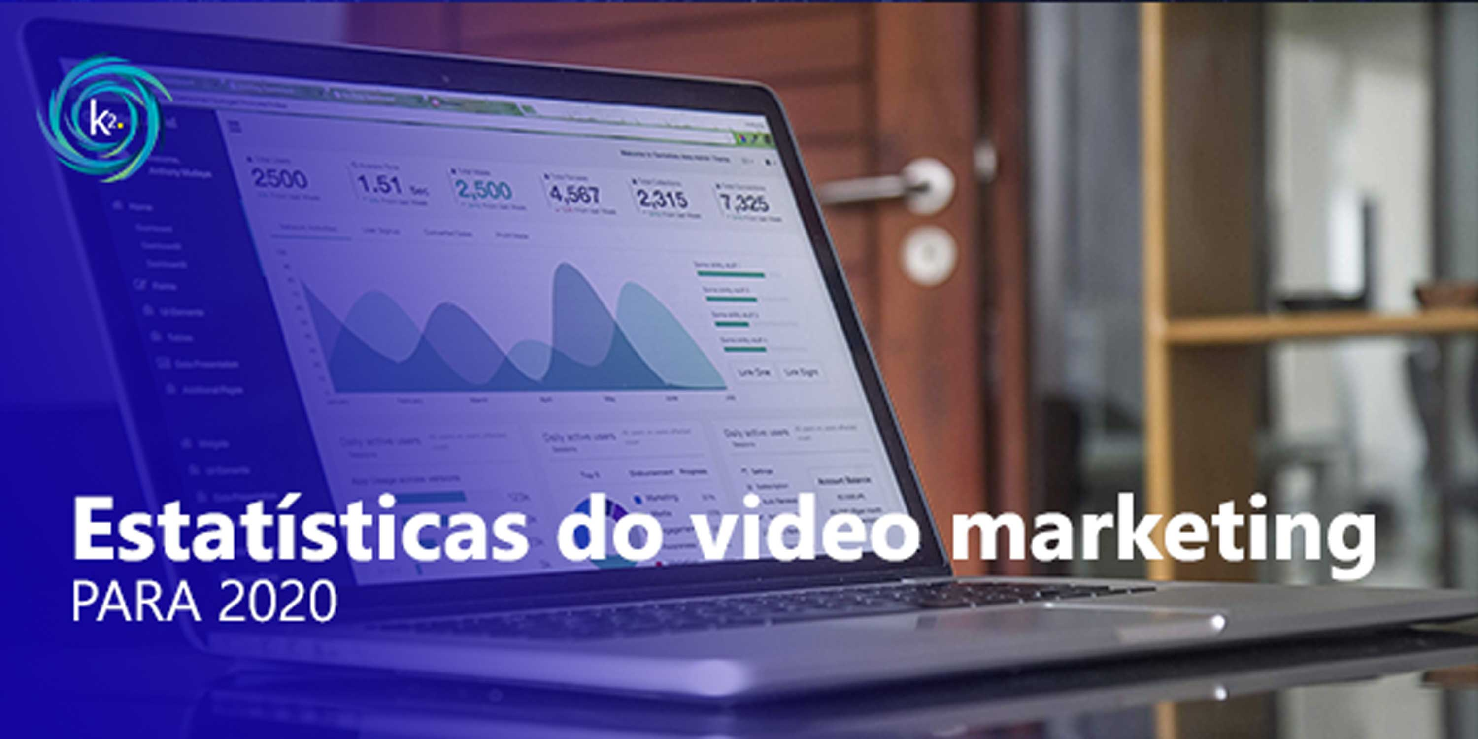 estatísticas do video marketing para 2020