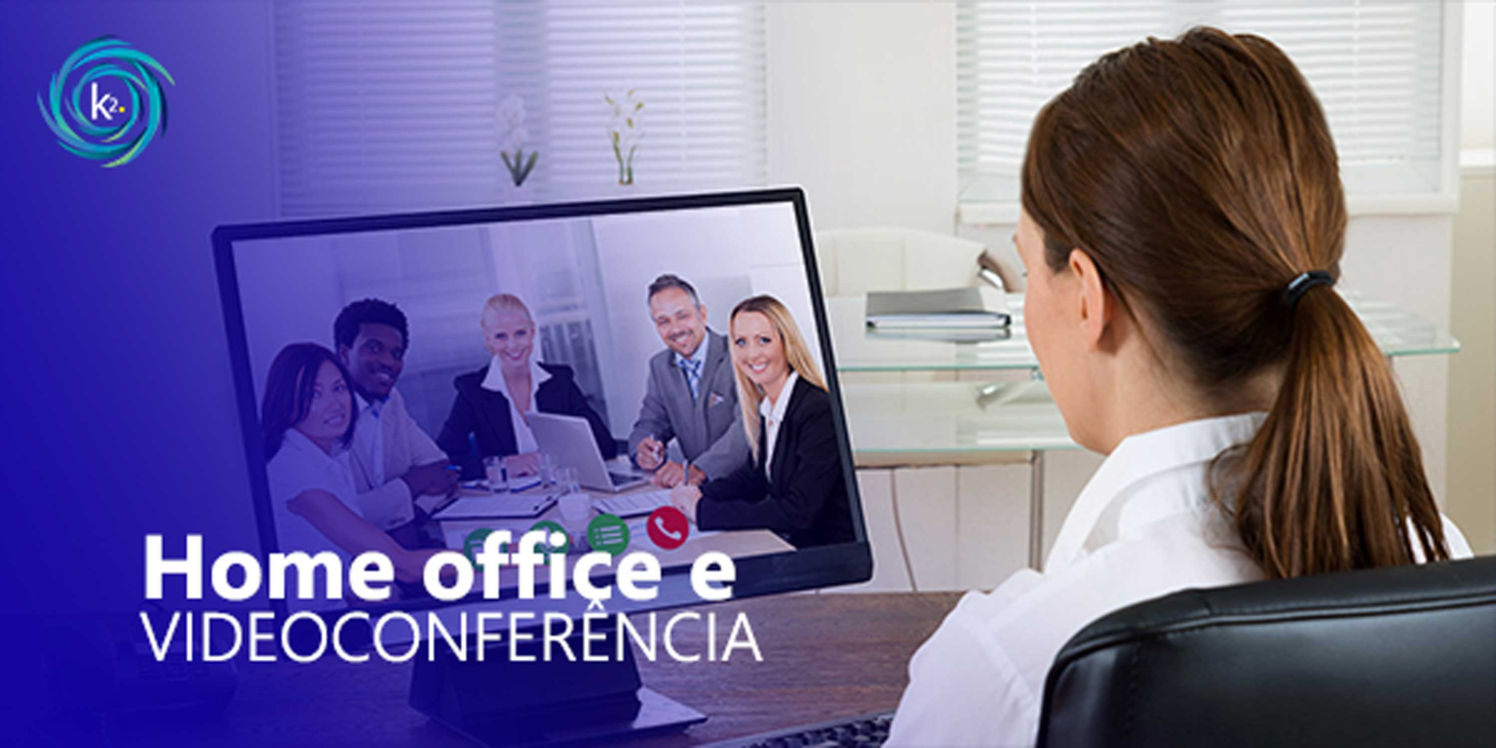 home office e videoconferência