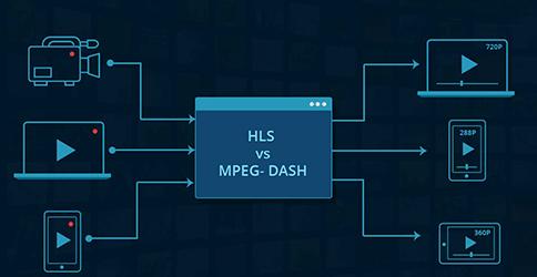 o atual rei e o desafiante ao trono: HLS versus MPEG-DASH.