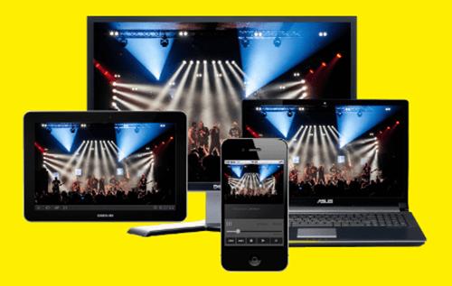 K2.Live: transmissão ao vivo para dispositivos móveis iOS e Android, em todos os navegadores.